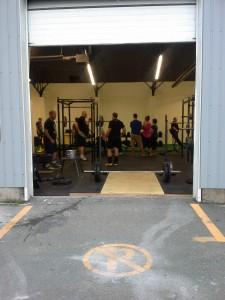 First Workout