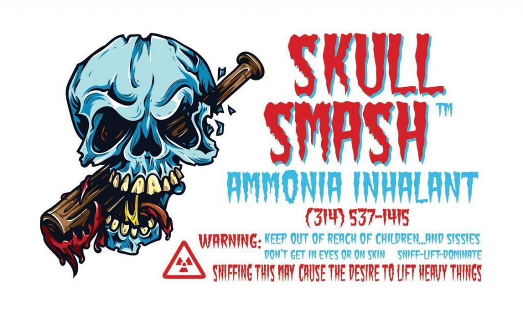 Skull Smash - white